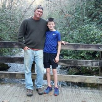 trout-fishing-deep-creek-bridge-bryson-city-nc