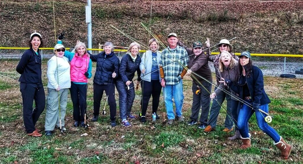 womens fly fishing school
