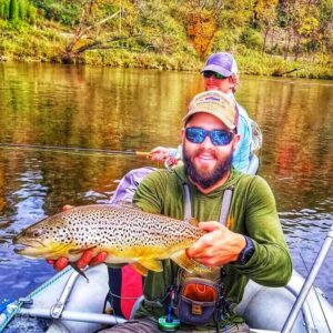 brown trout float fishing